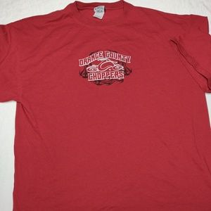 Orange County Choppers official red t-shirt. 2XL.
